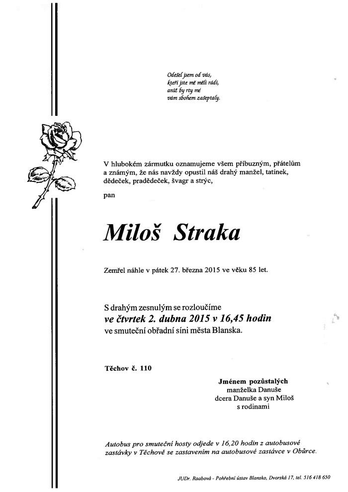 Miloš Straka