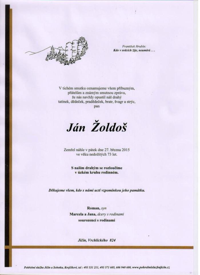 Ján Žoldoš