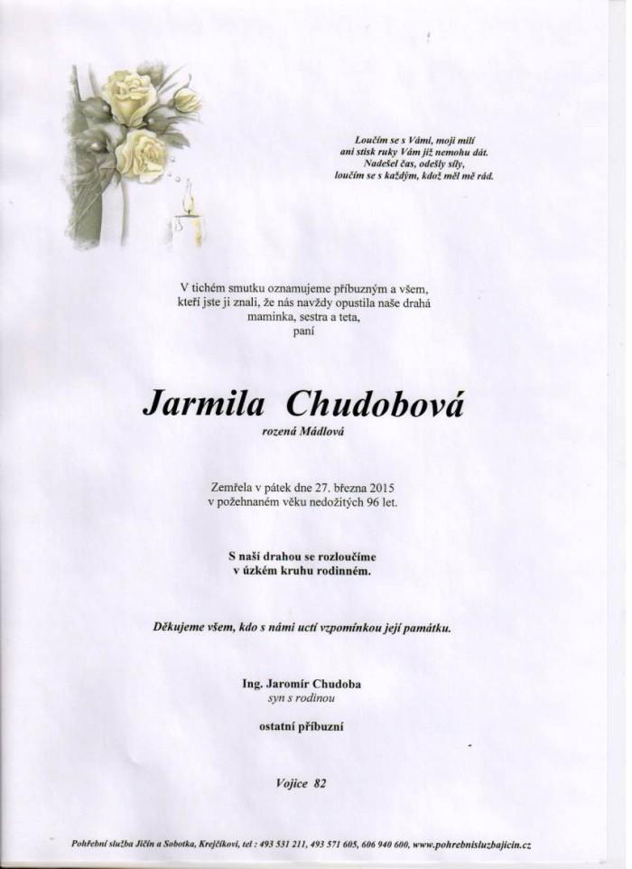 Jarmila Chudobová