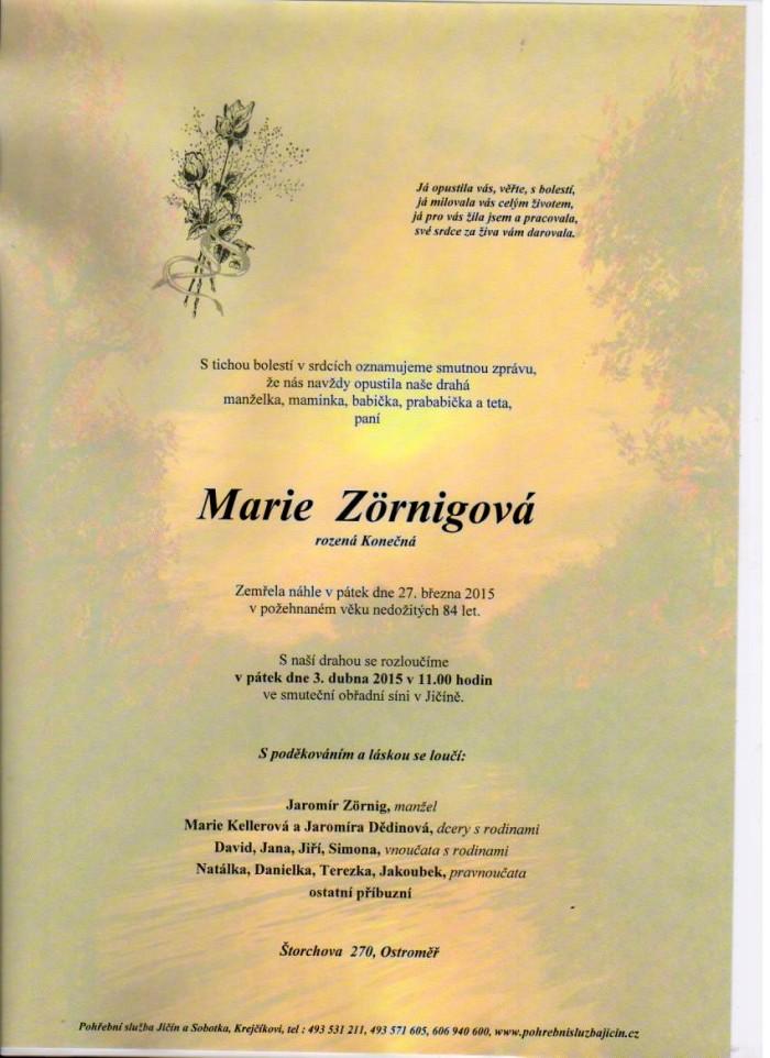 Marie Zörnigová