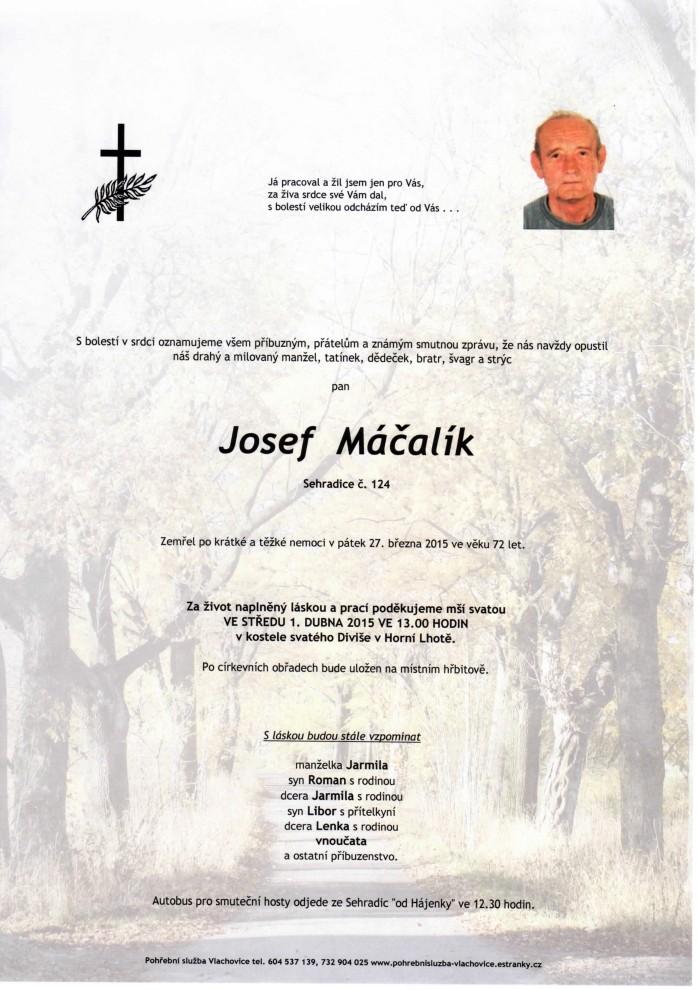 Josef Máčalík