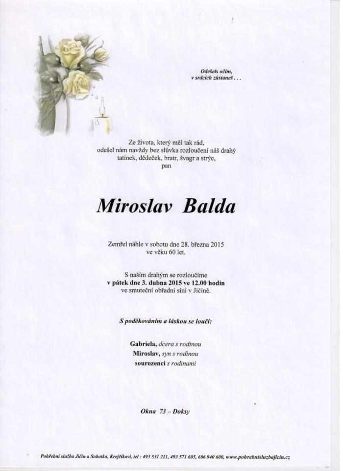 Miroslav Balda