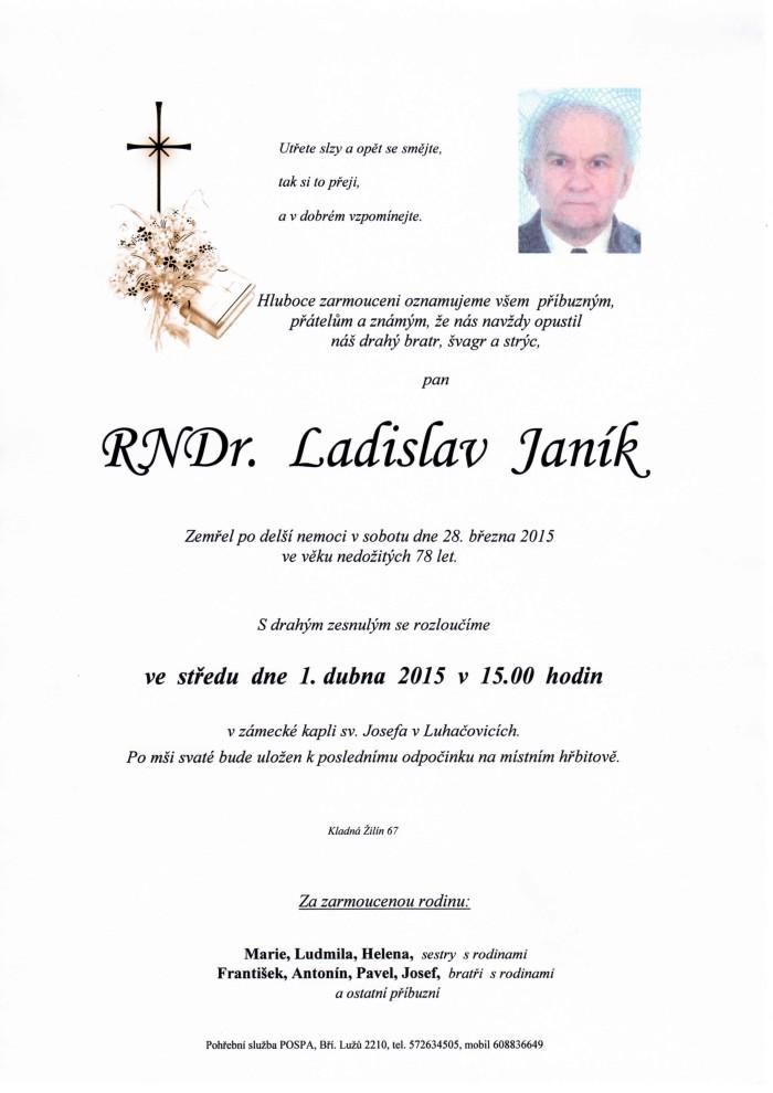 RNDr. Ladislav Janík