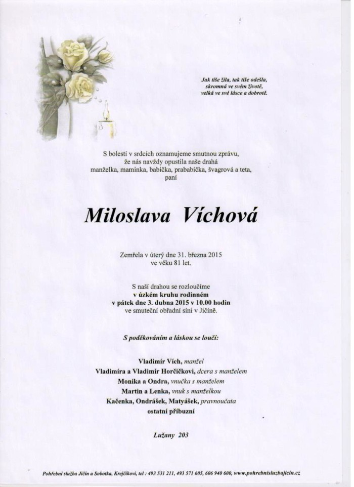 Miloslava Víchová