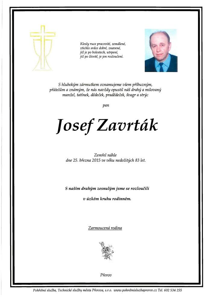 Josef Zavrták