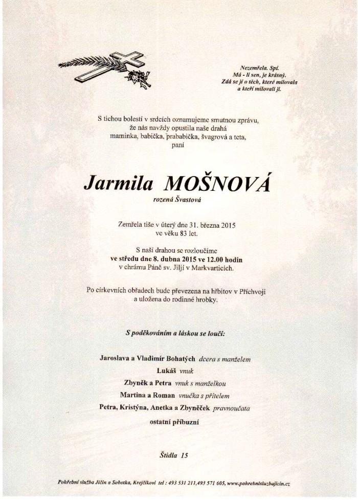 Jarmila Mošnová