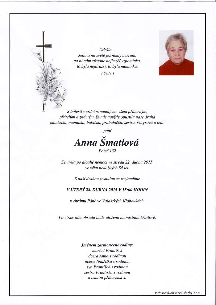 Anna Šmatlová