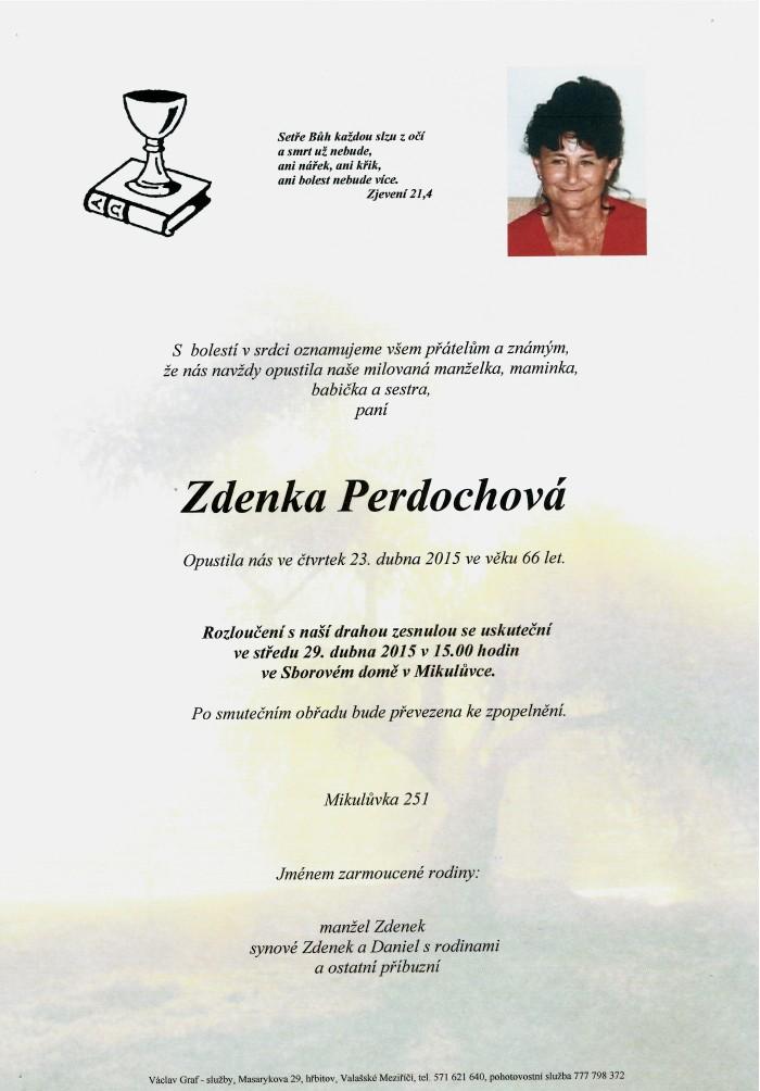 Zdenka Perdochová