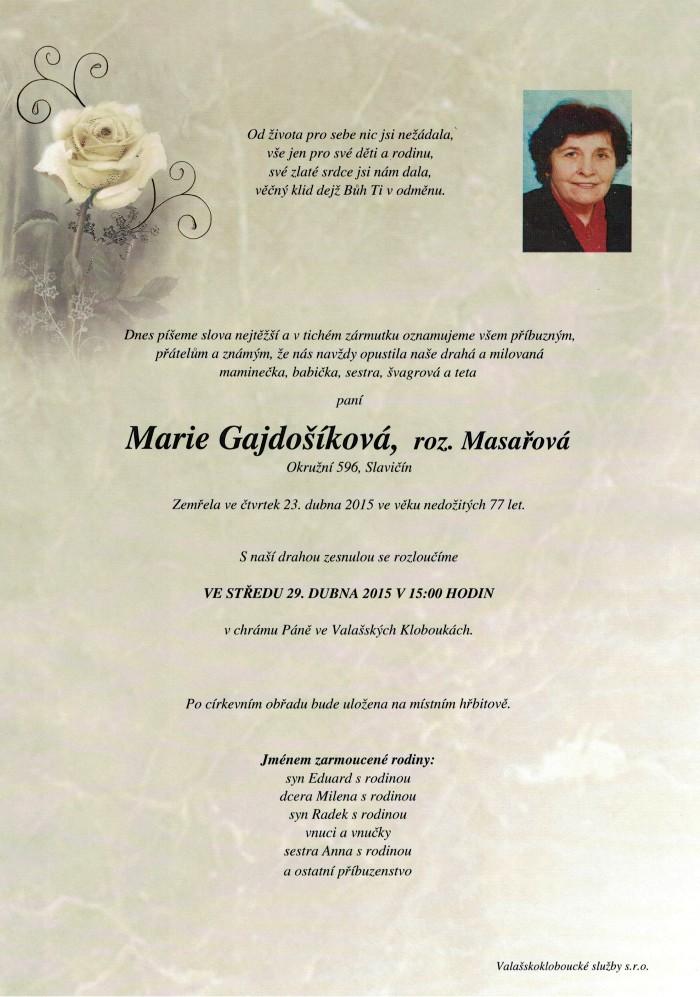 Marie Gajdošíková