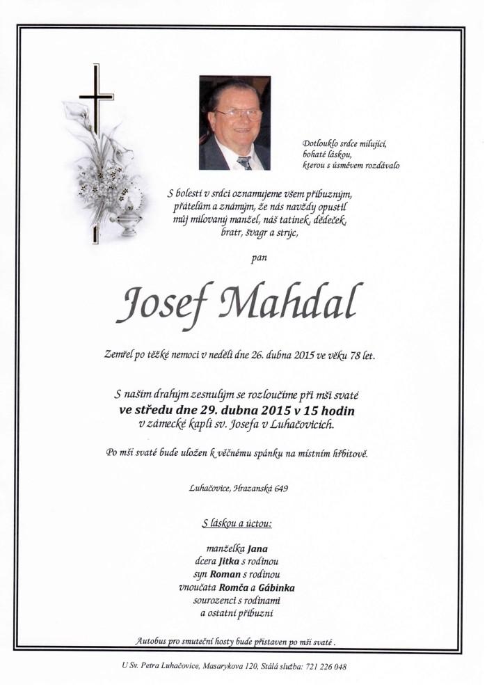 Josef Mahdal
