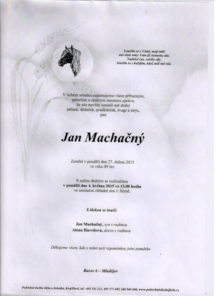 Jan Machačný