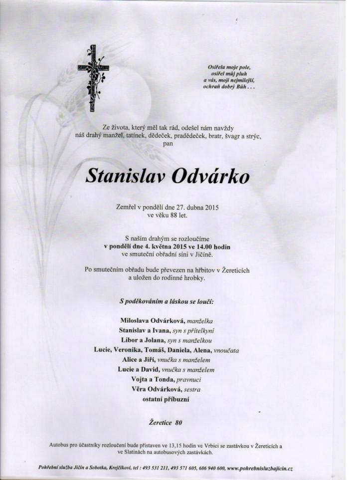 Stanislav Odvárko