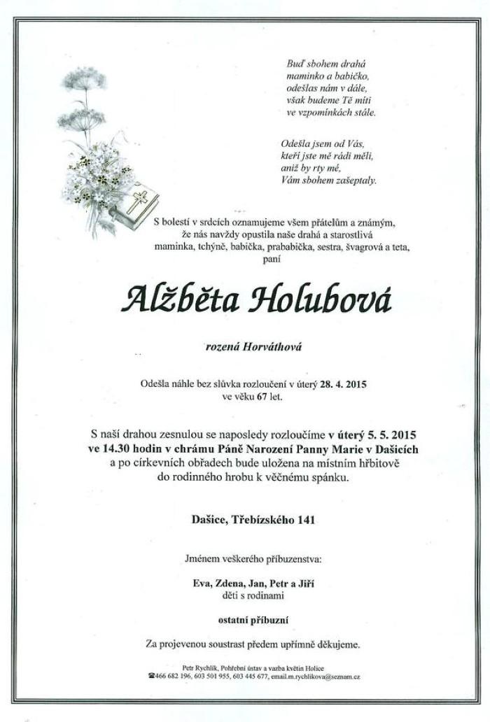 Alžběta Holubová