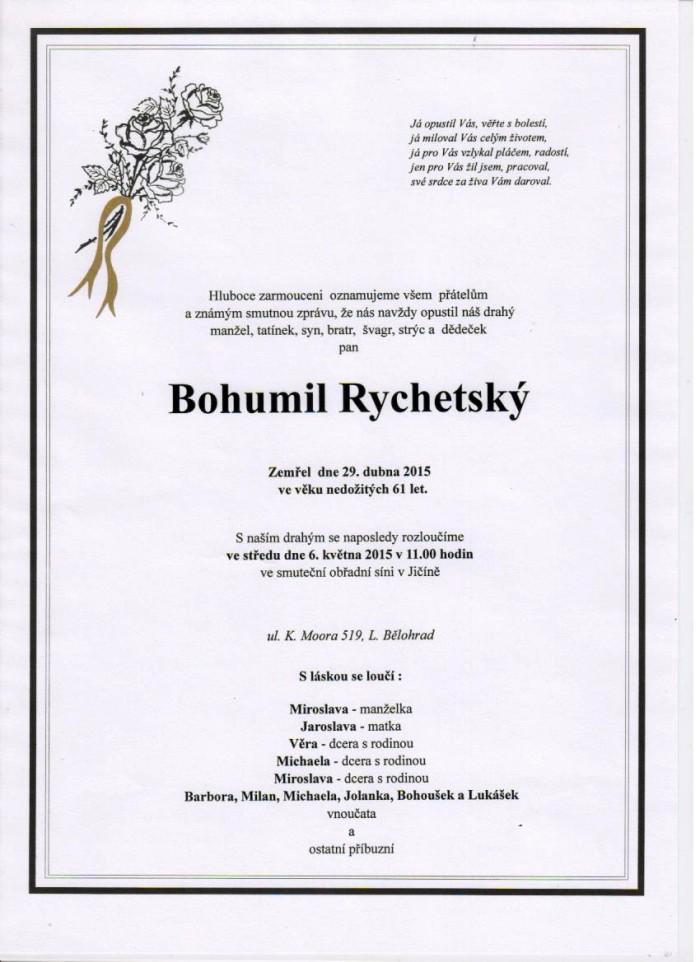 Bohumil Rychetský
