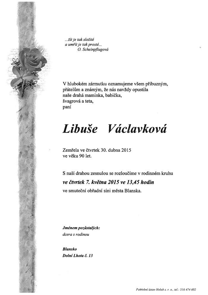 Libuše Václavková