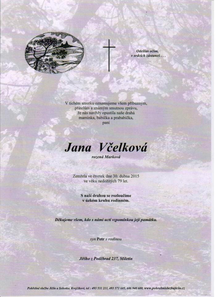 Jana Včelková