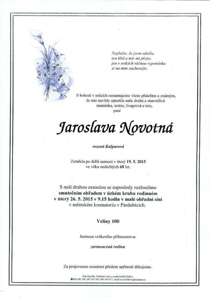 Jaroslava Novotná