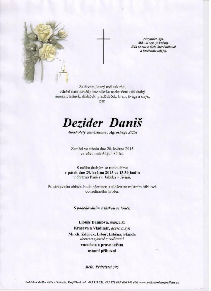 Dezider Daniš