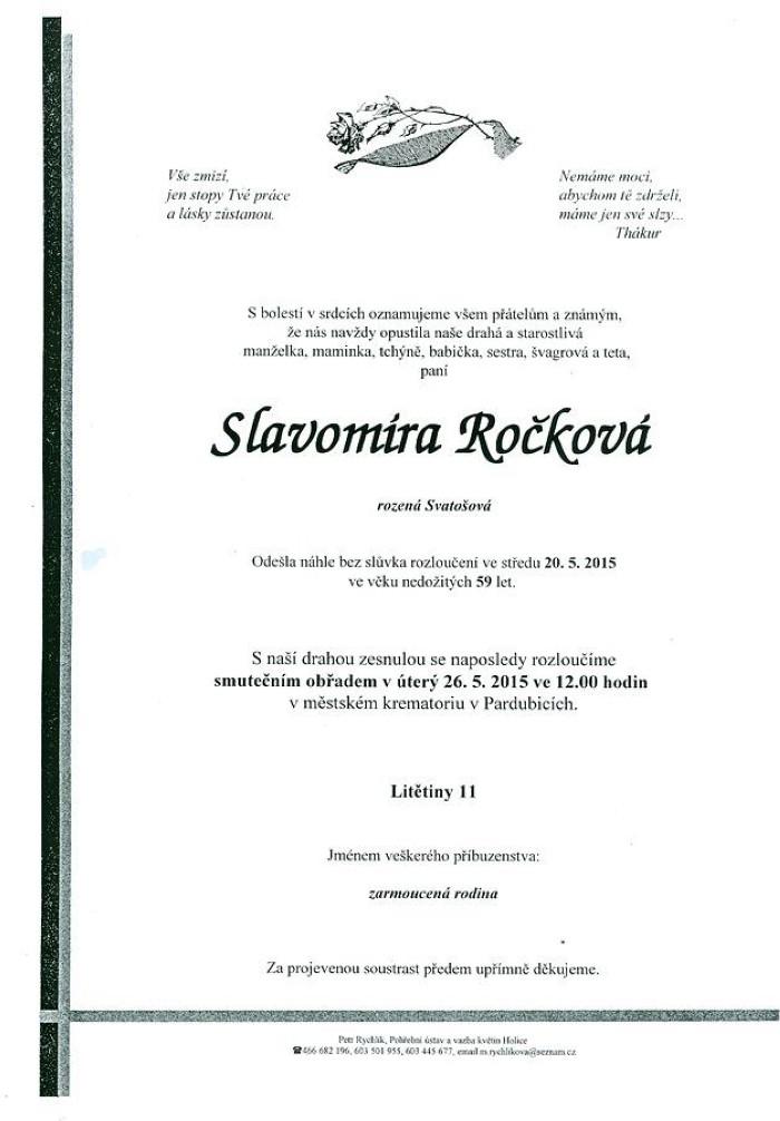 Slavomíra Ročková