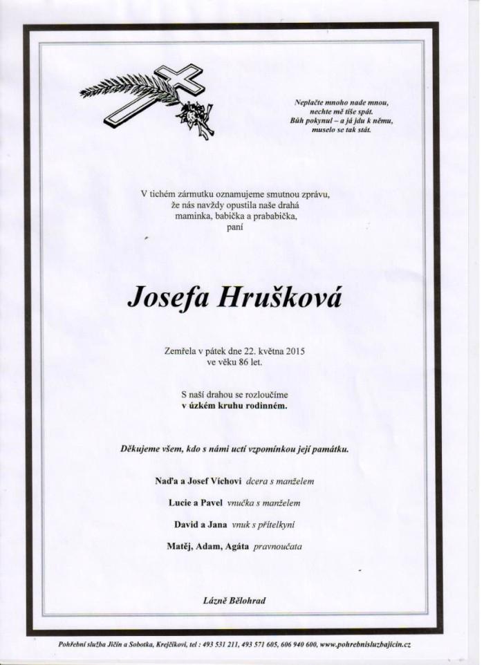 Josefa Hrušková