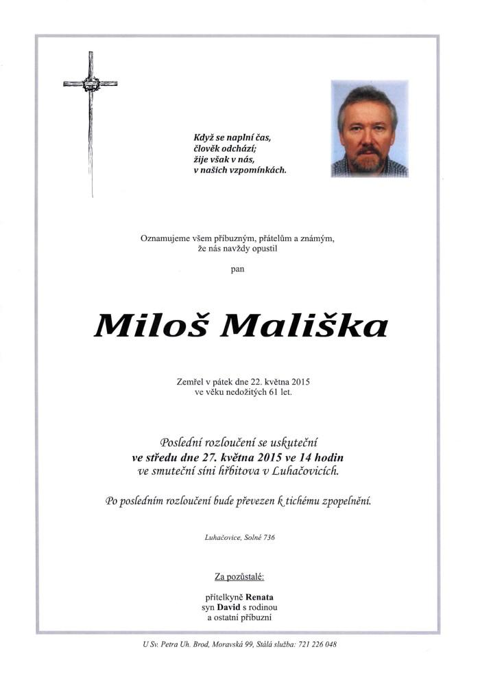 Miloš Mališka