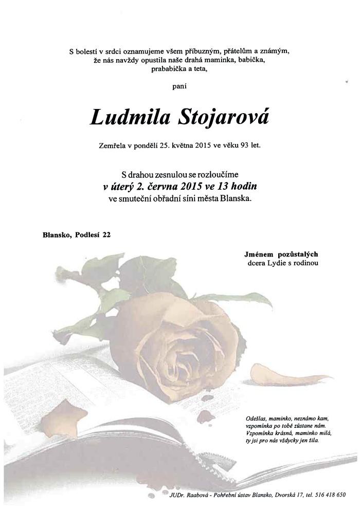 Ludmila Stojarová