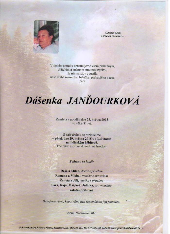 Dášenka Janďourková