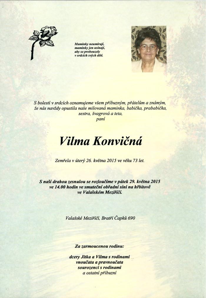Vilma Konvičná