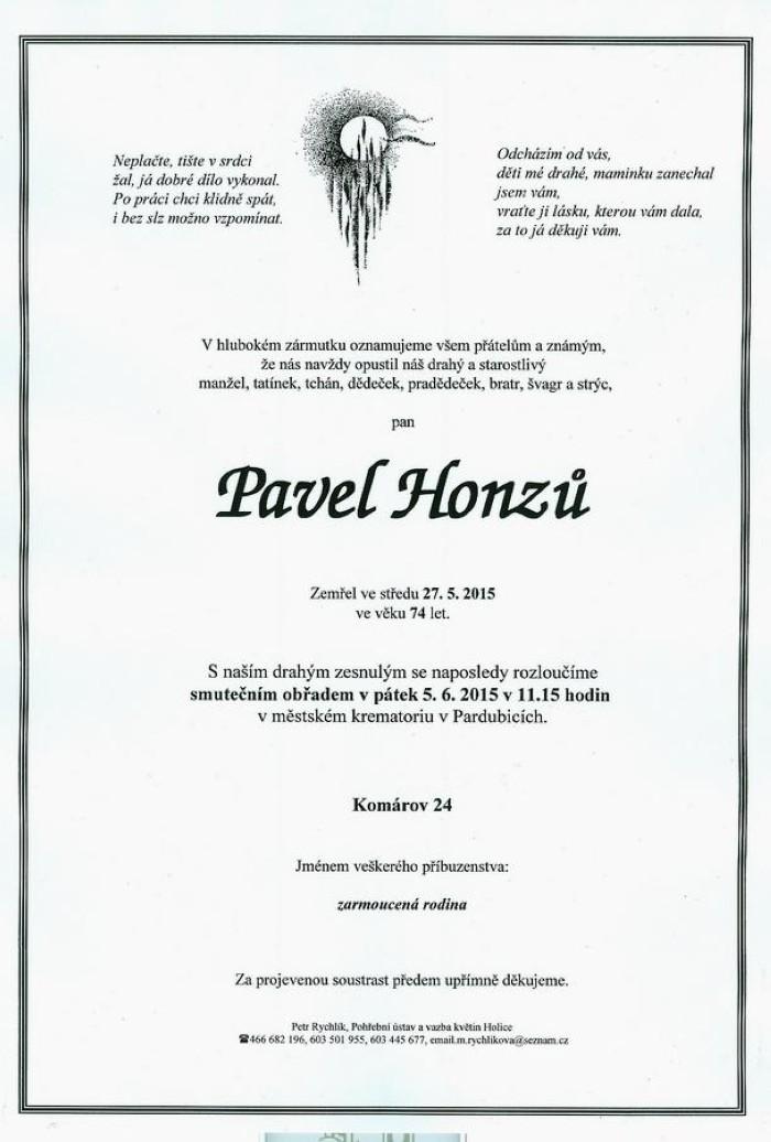 Pavel Honzů