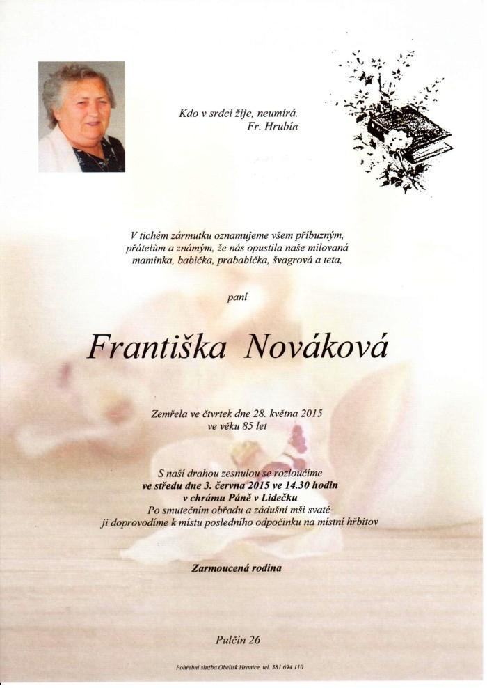 Františka Nováková
