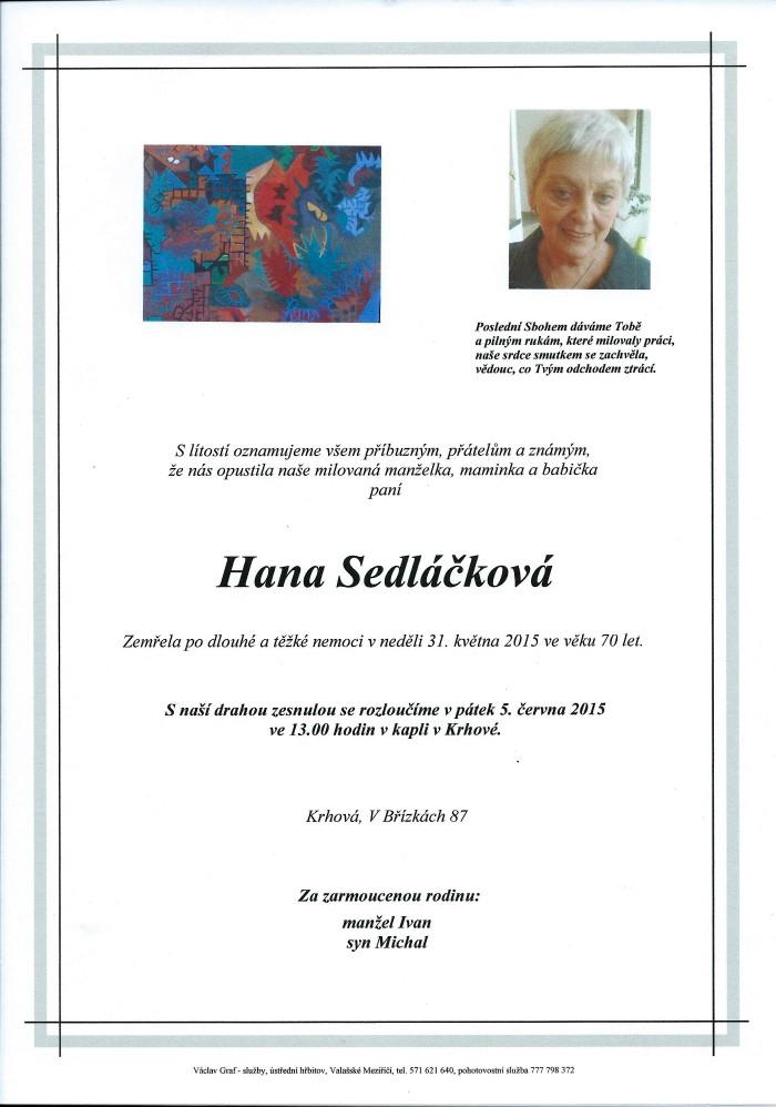 Hana Sedláčková