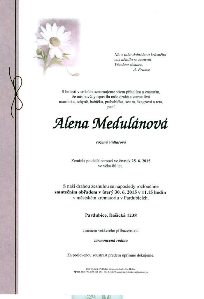 Alena Medulánová