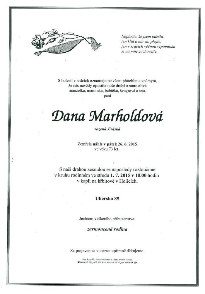 Dana Marholdová