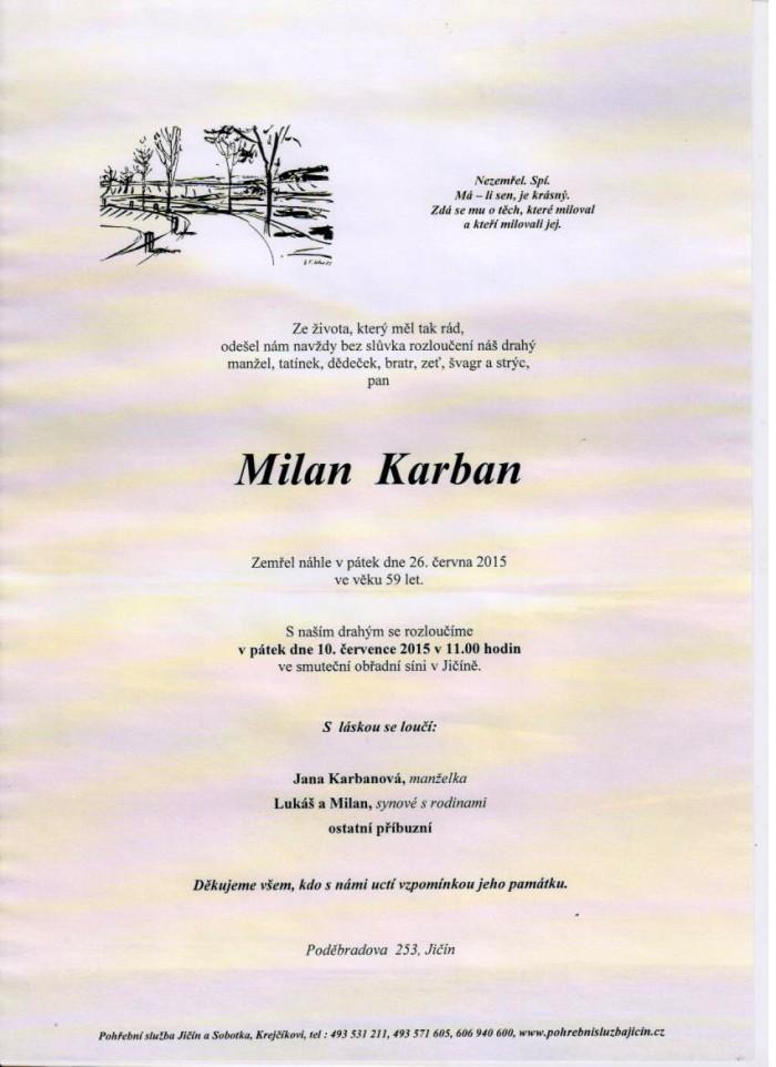 Milan Karban