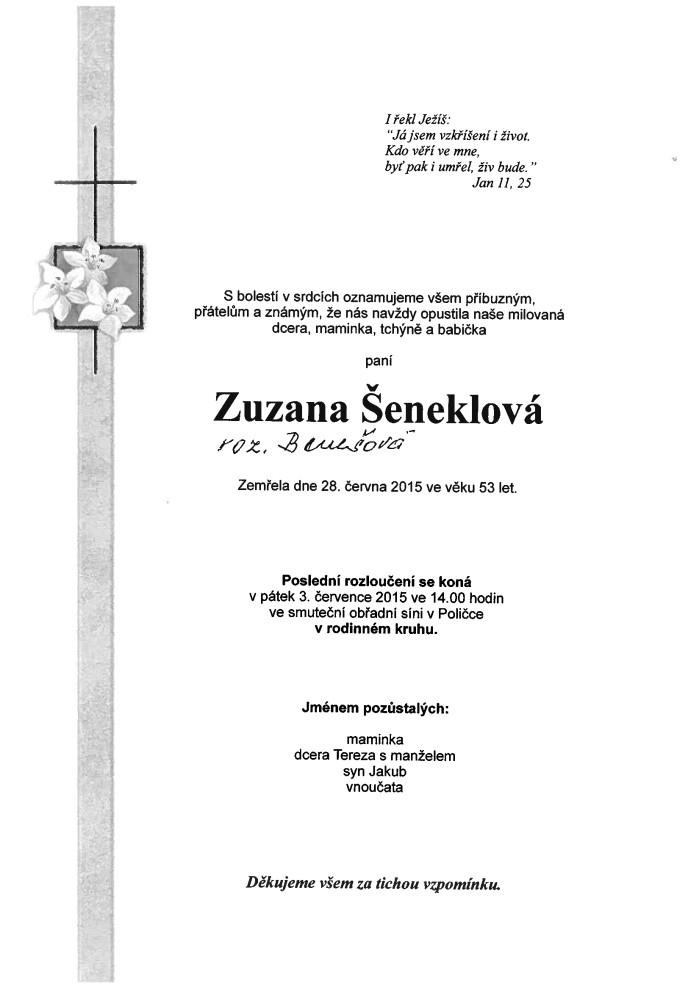 Zuzana Šeneklová