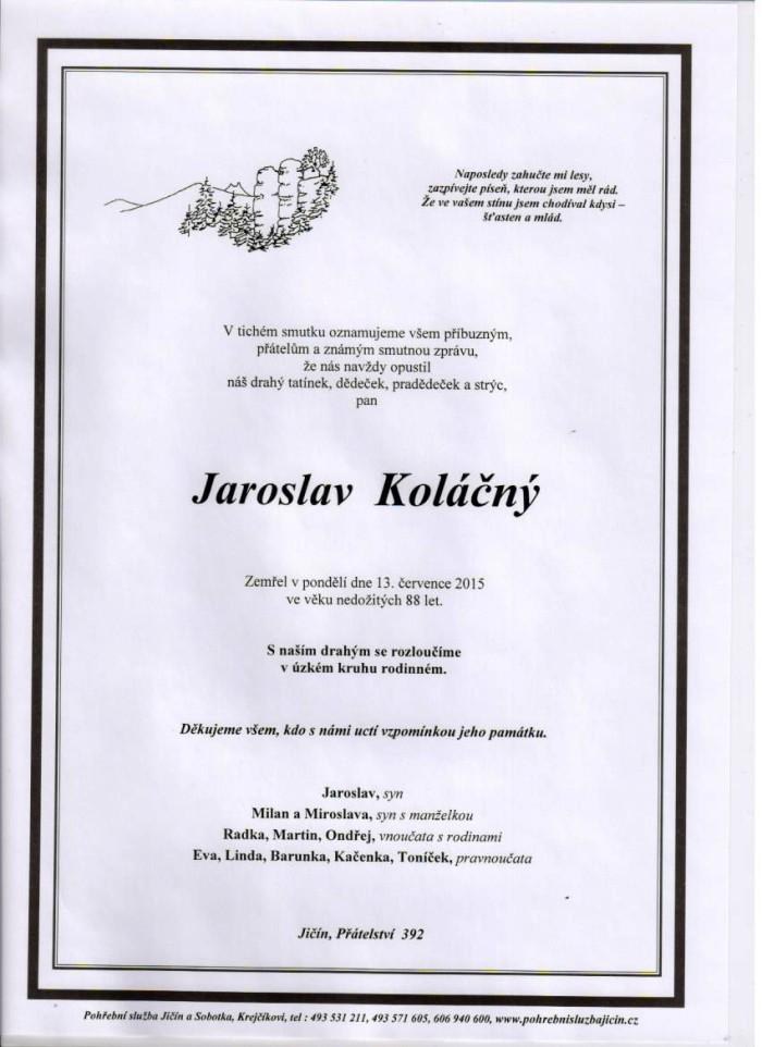 Jaroslav Koláčný