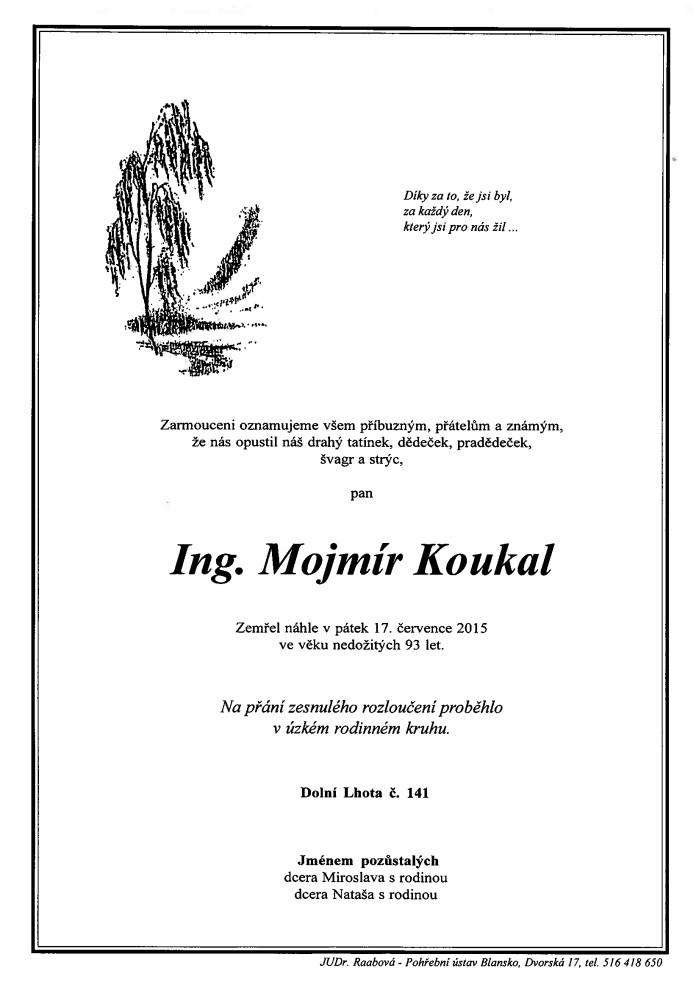 Ing. Mojmír Koukal