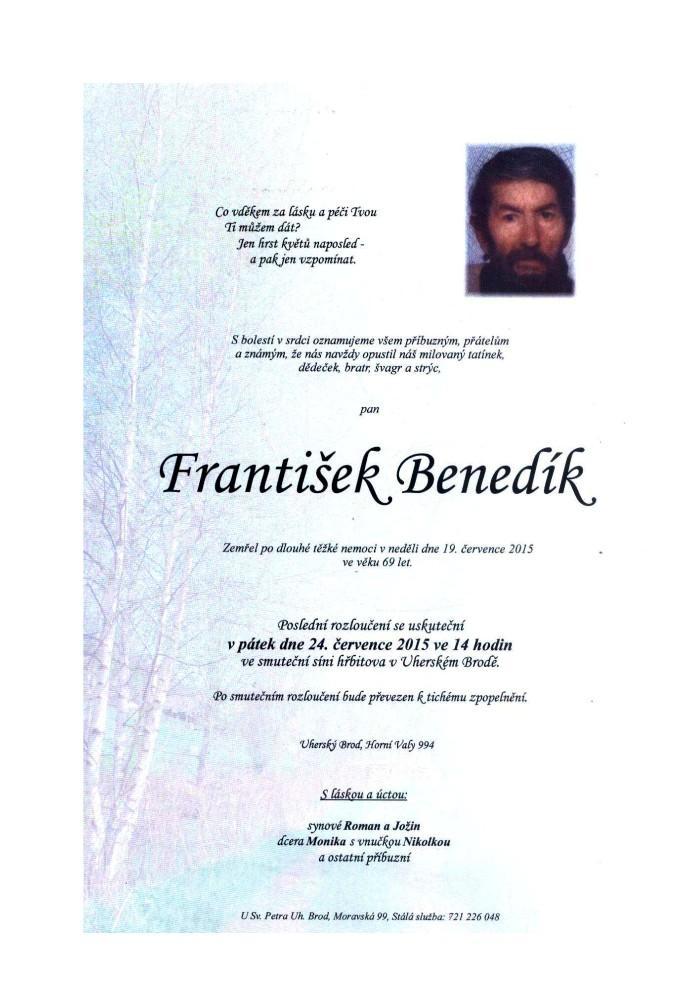 František Benedík