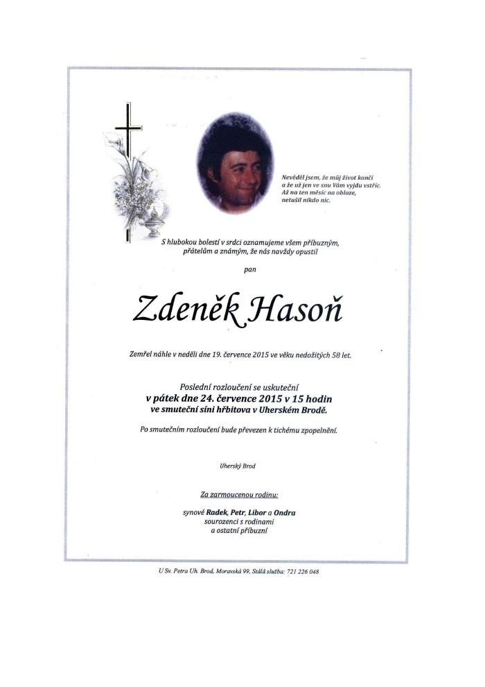 Zdeněk Hasoň