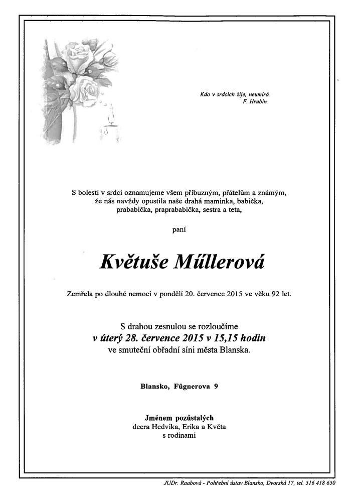 Květuše Müllerová