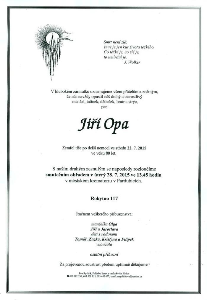 Jiří Opa