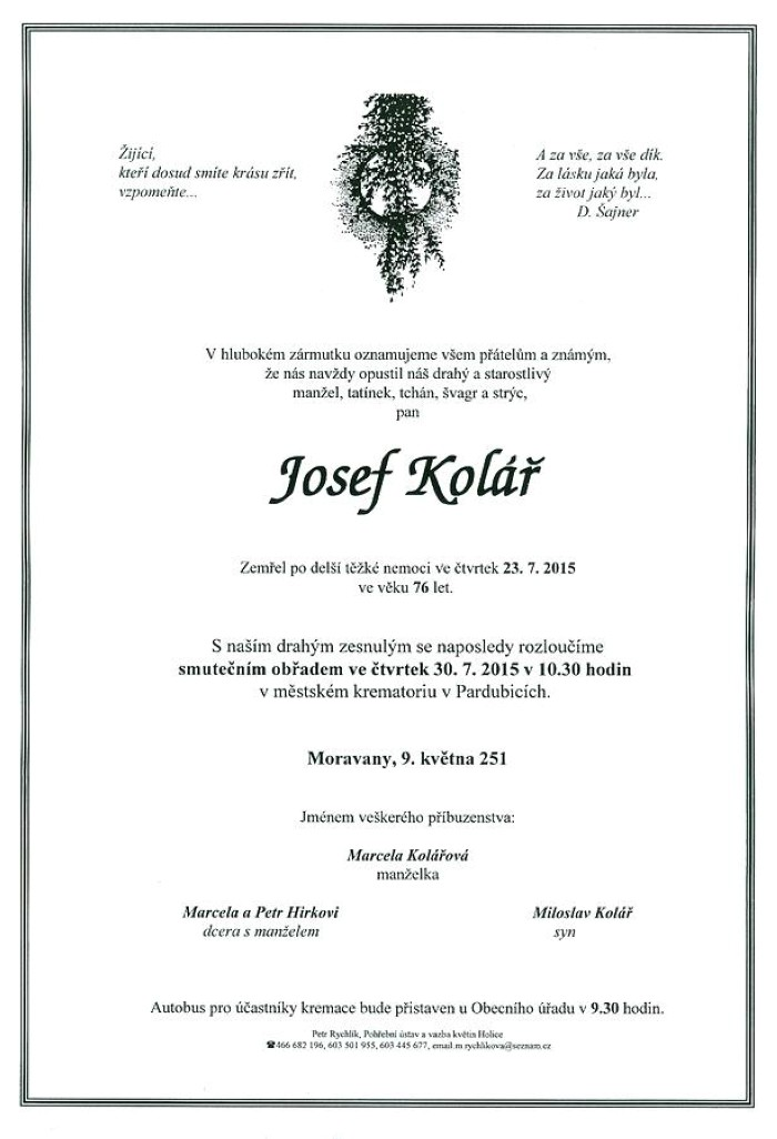 Josef Kolář