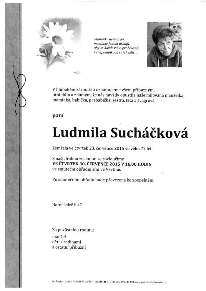 Ludmila Sucháčková