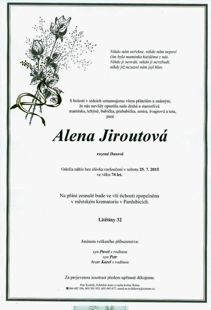 Alena Jiroutová