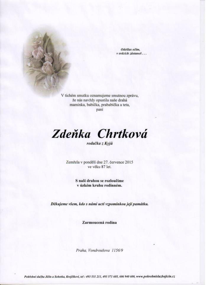 Zdeňka Chrtková