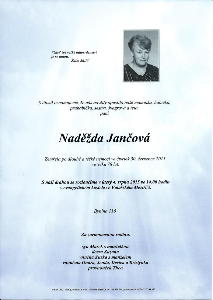 Naděžda Jančová