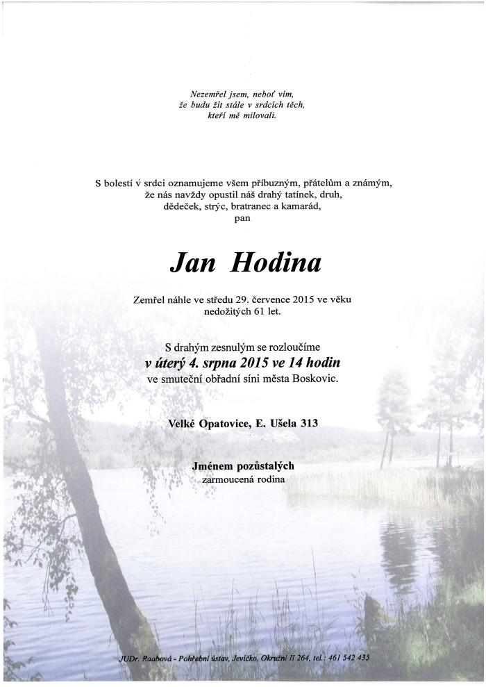 Jan Hodina
