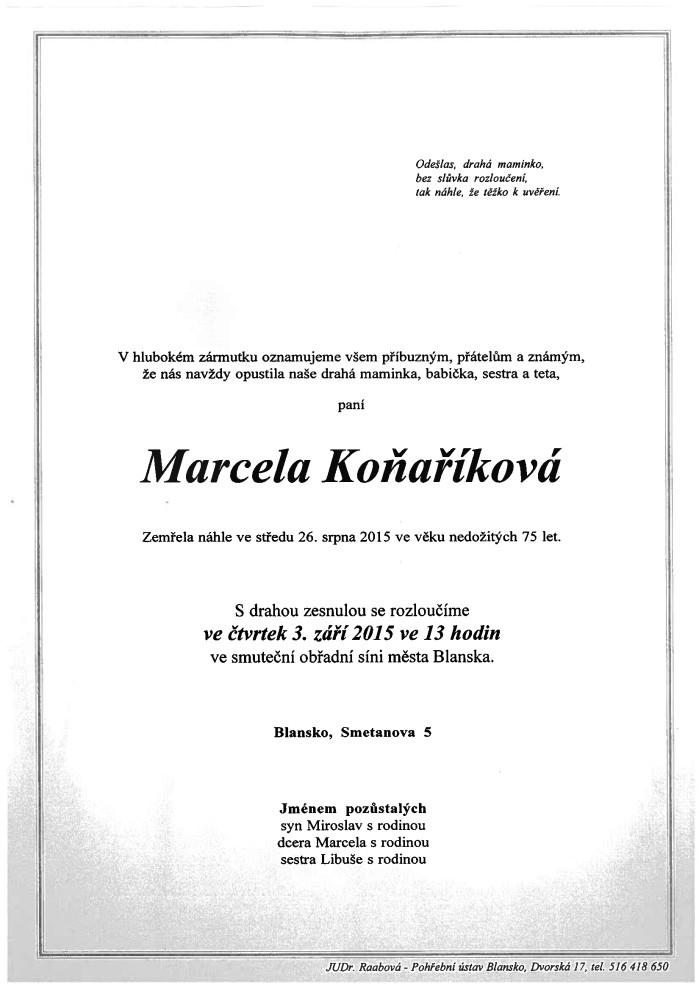 Marcela Koňaříková