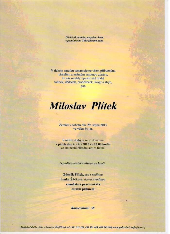 Miloslav Plítek