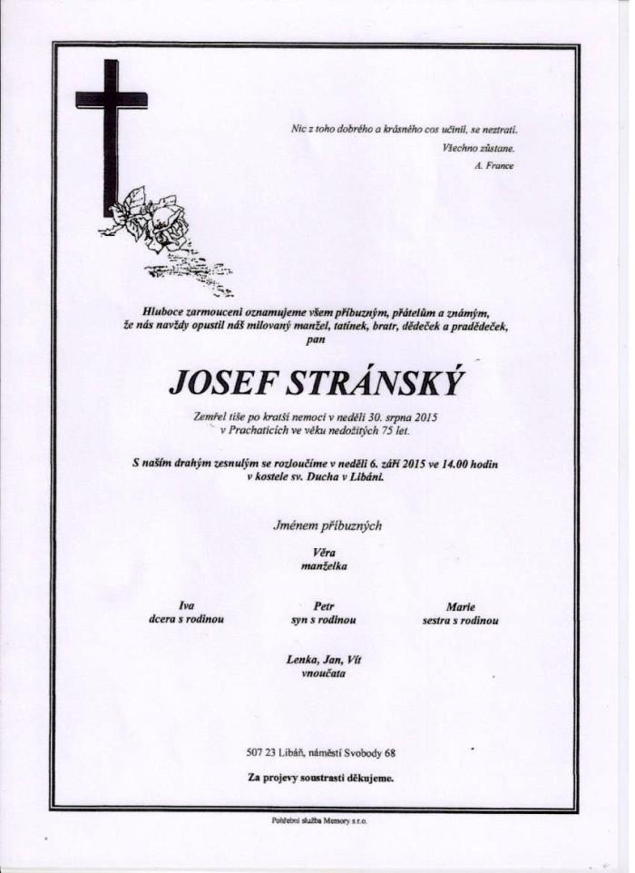 Josef Stránský